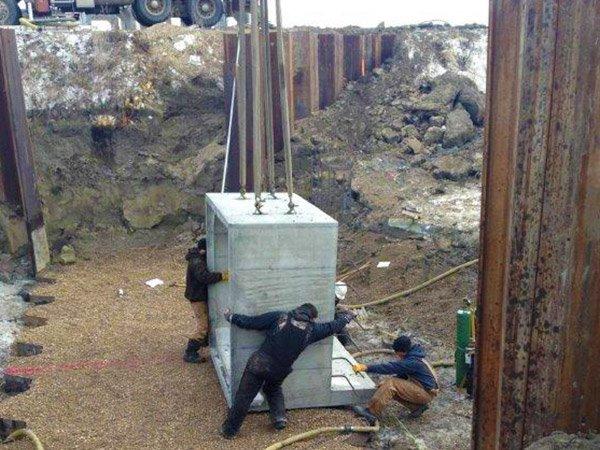 Box culvert specialty Crow Creek (installation)