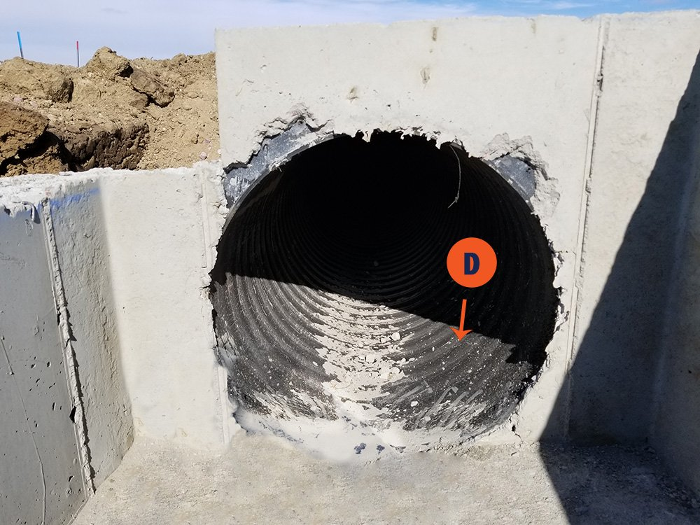 Plastic pipe installation Harrisburg Corrugation Growth