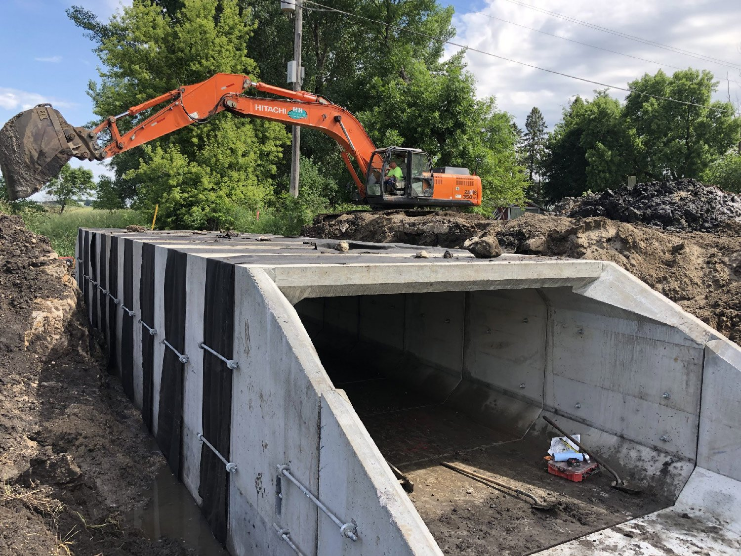 O'Brien County, Iowa 12'x6' box culvert