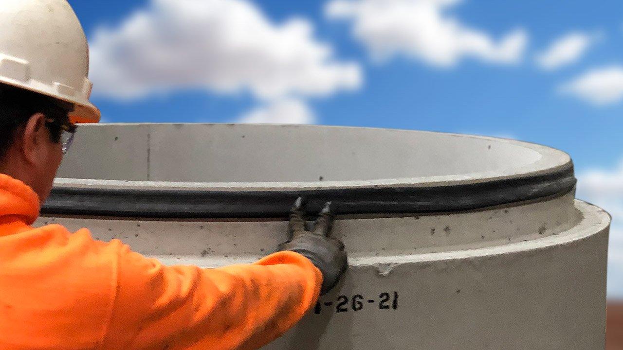 Gasket install